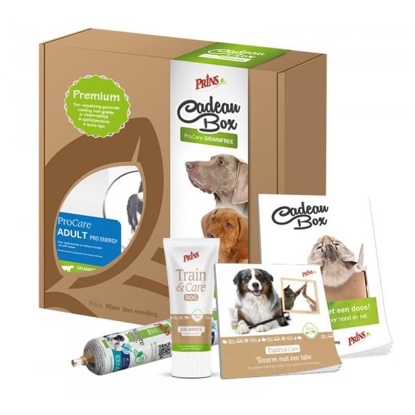 Premium Cadeaubox hond
